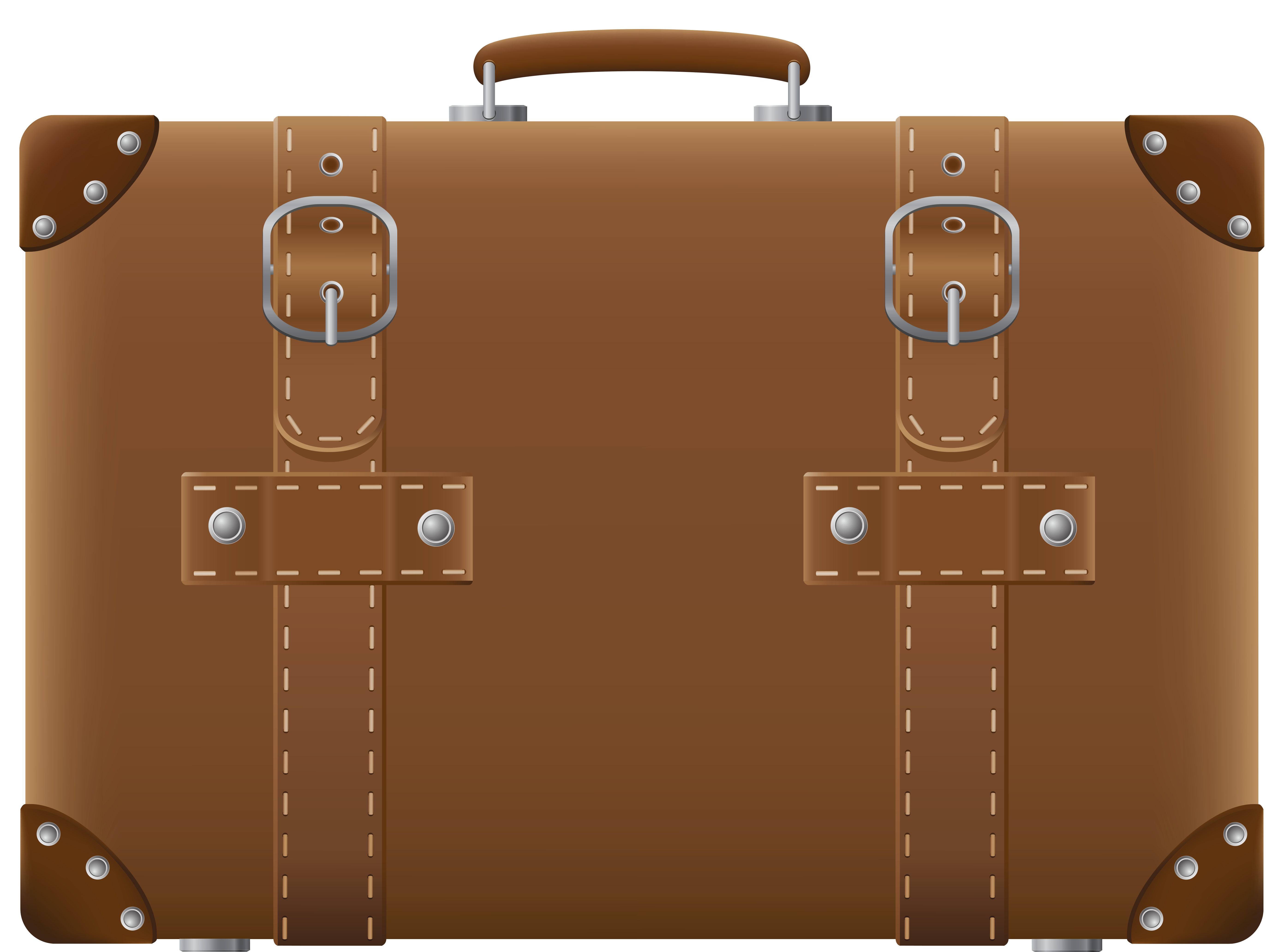 clipart transparent library Brown Suitcase PNG Clipart Picture