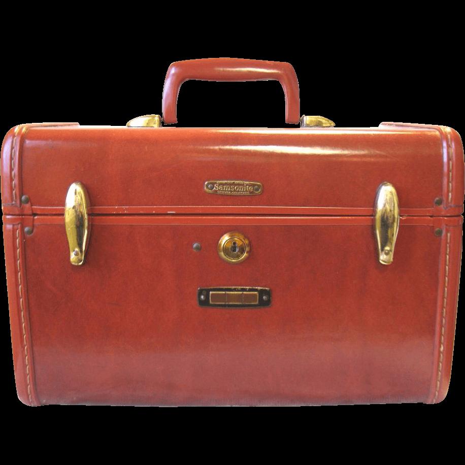clip download Suitcase transparent. Vintage samsonite png stickpng.