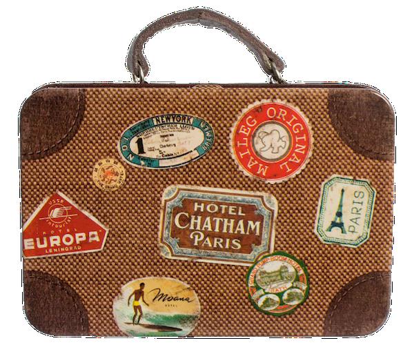 banner transparent Vintage Suitcase PNG Transparent Vintage Suitcase