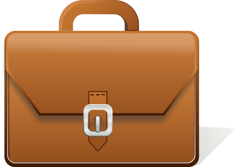 clip royalty free library Briefcase clipart detective Cute Borders