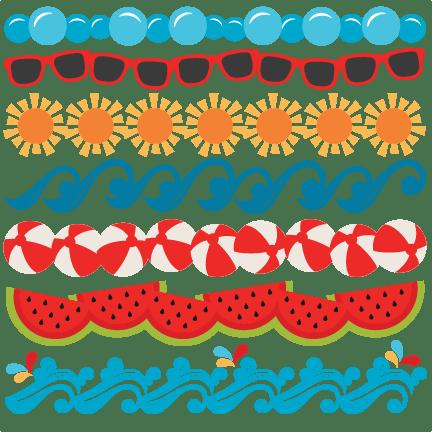 svg download Clip art holliddays co. Summer clipart borders
