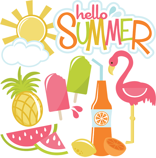 vector royalty free Hello Summer SVG files for cutting machines sun svg file cloud svg