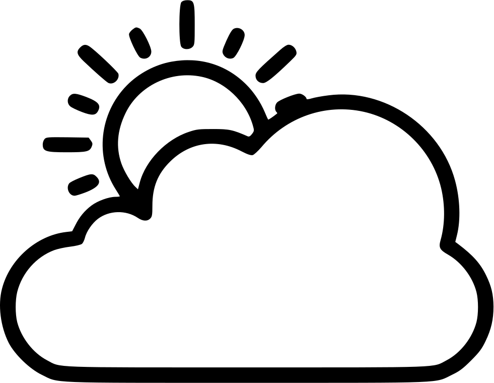 png freeuse library Sun Cloud Svg Png Icon Free Download
