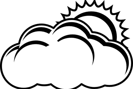 clip free library Download wallpaper sun clouds. Cloud clipart black and white