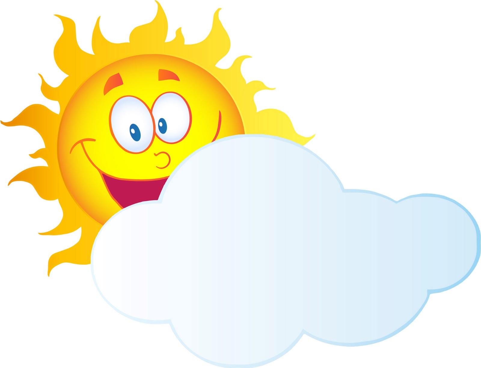 image Sun with clouds clipart. Best and clipartion com