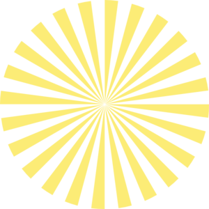 png library stock Pale Yellow Sunburst Clip Art at Clker