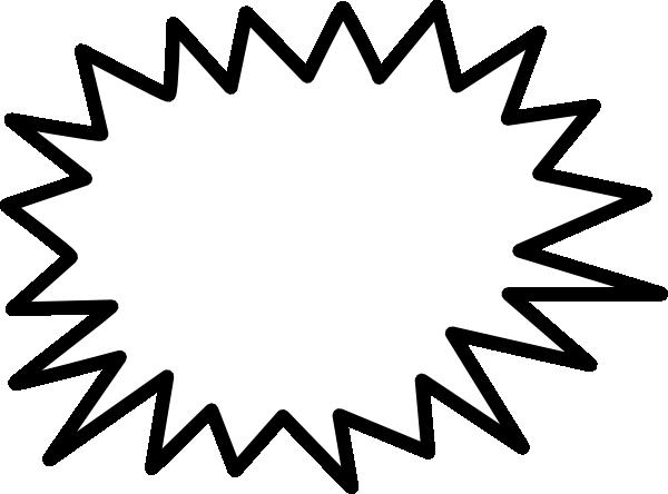 svg free Callout Jagged Sunburst Clip Art at Clker