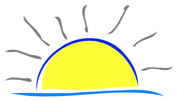 svg freeuse library Easter sunrise free download. Early morning clipart.