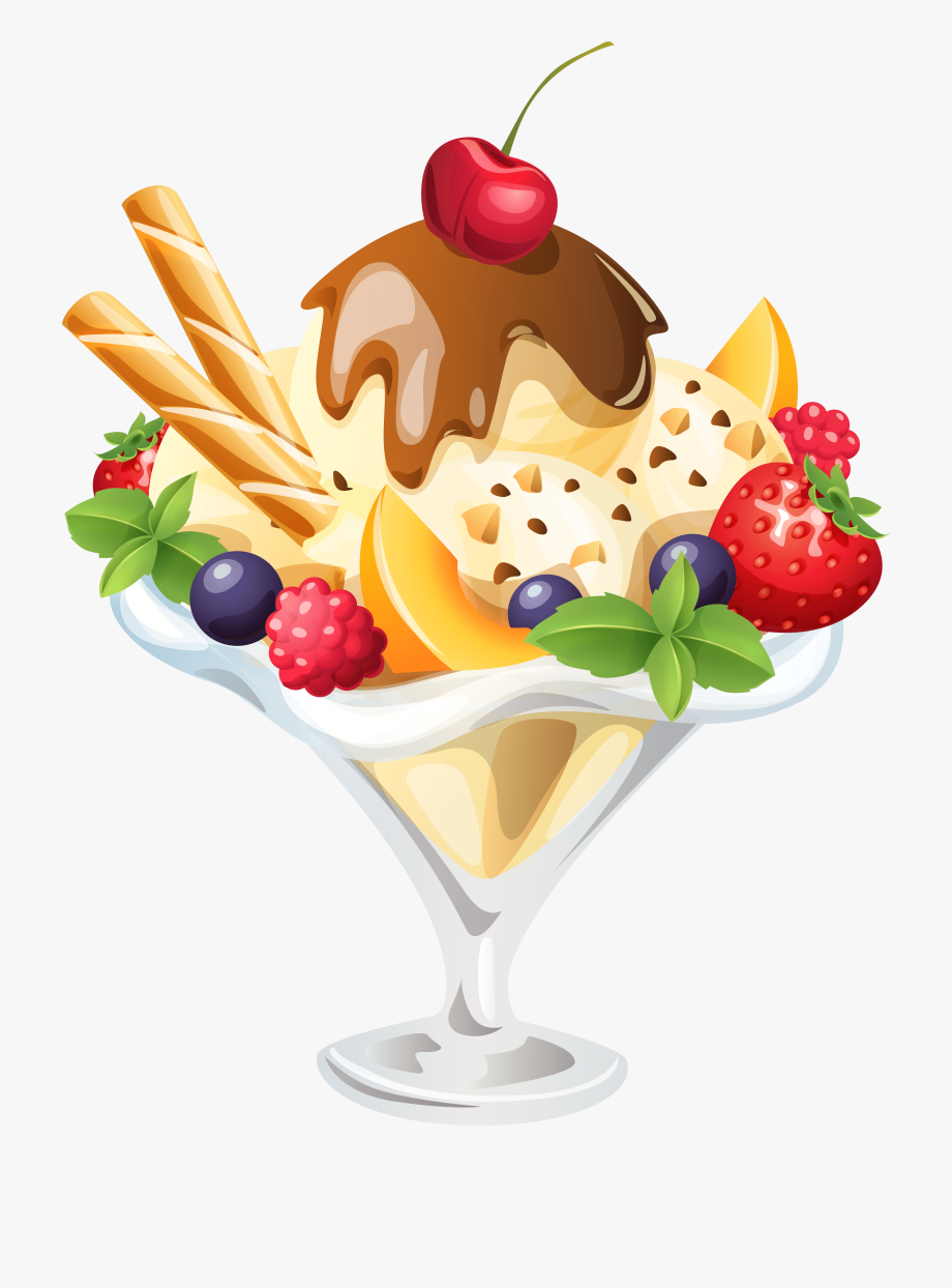 png black and white library Ice cream png image. Sundae clipart craem