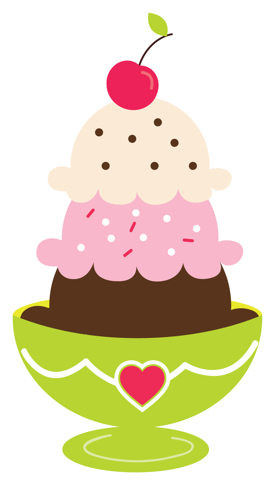 clip art transparent Sundae clipart. Ice cream printables and