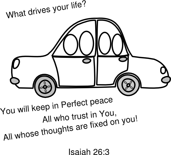 png transparent download Car outline clip art. Sunday school clipart black and white