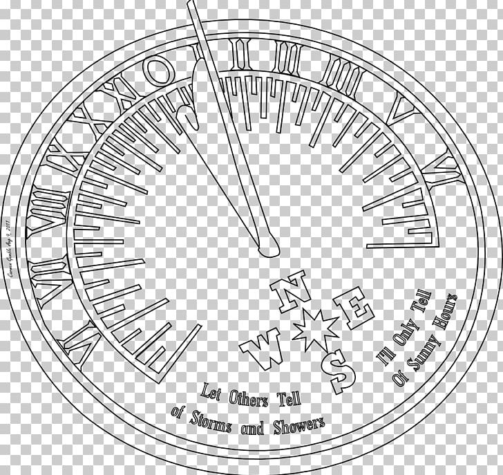 graphic transparent library Sundial drawing. Compass clock png clipart.