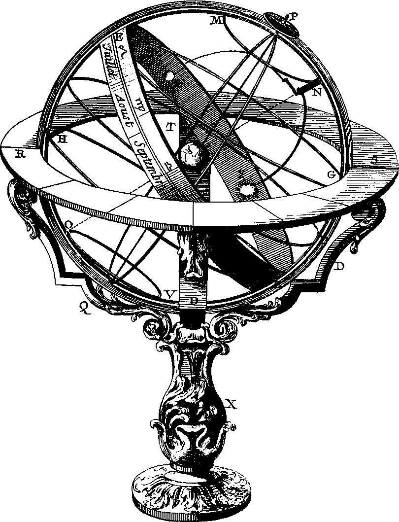 royalty free Sundial drawing. Of the underground munich