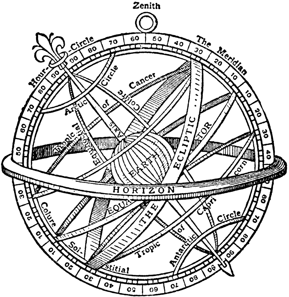 png royalty free library Abong an equatorial is. Sundial drawing
