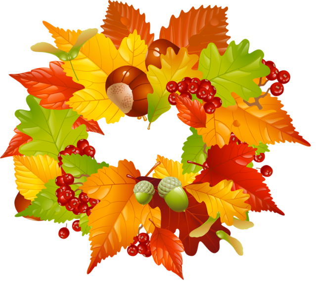 graphic royalty free download Fall Wreaths Cliparts Free Download Clip Art