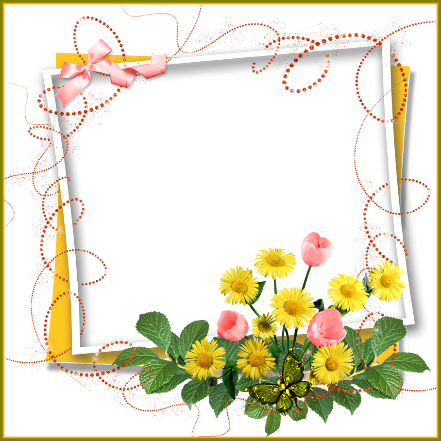 banner free Sunflower corner border clipart. The best pin by