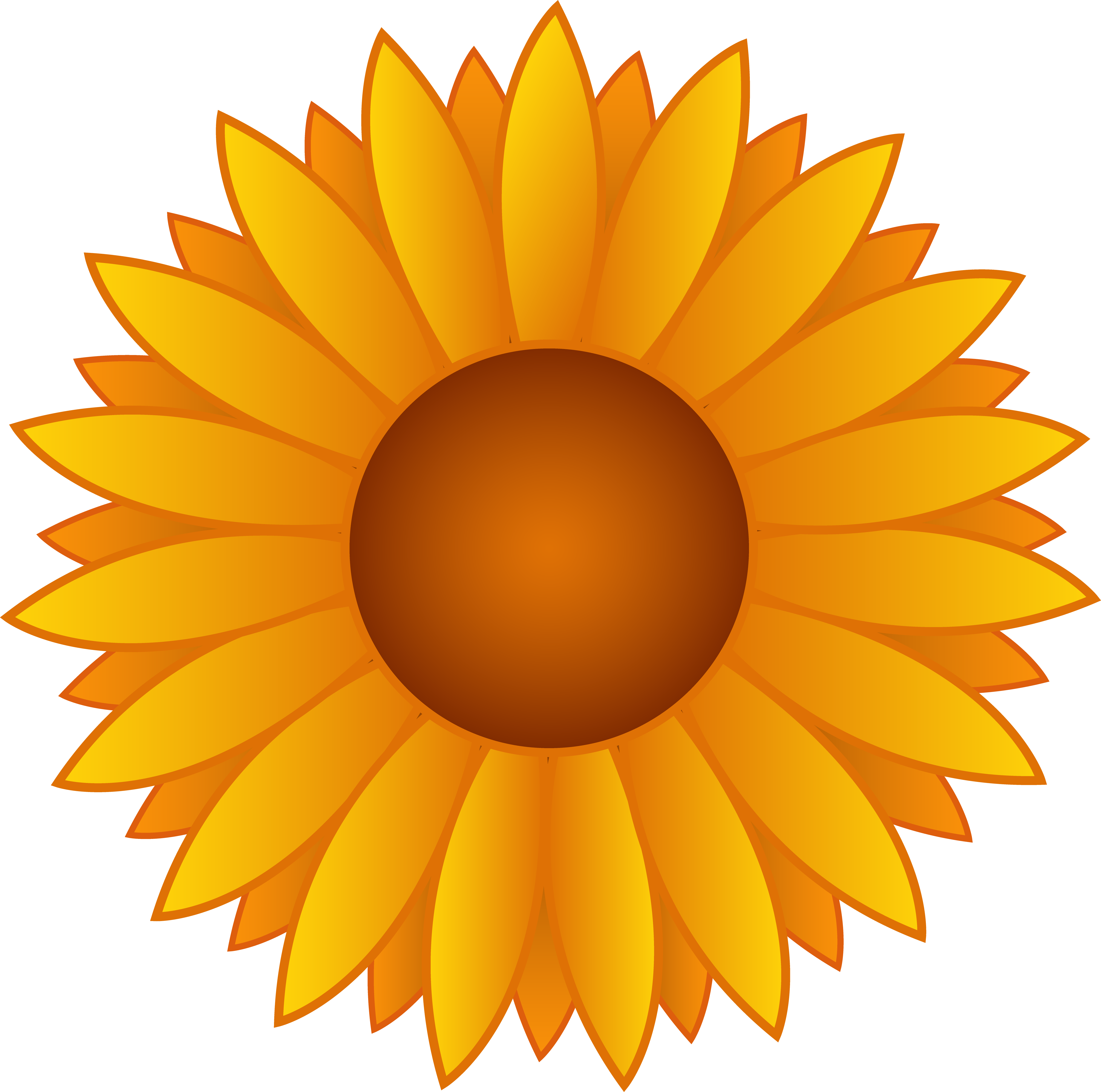 clip art freeuse Sunflowers clipart. Sunflower clip art free.