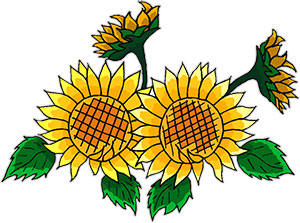 picture royalty free Free animated gifs . Sunflowers clipart animation