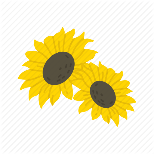 image library download Essential flat by vectto. Sunflowers clipart thanksgiving