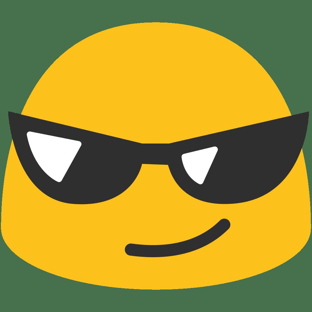clip stock Sunglasses Emoji transparent PNG