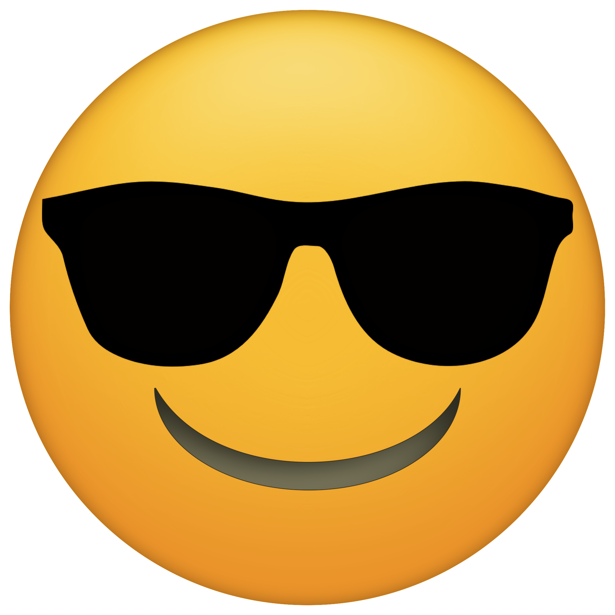 jpg royalty free Vector emojis sunglasses. Www papertraildesign com wp