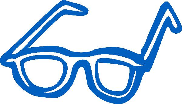 jpg free Blue Eye Glasses Clip Art at Clker
