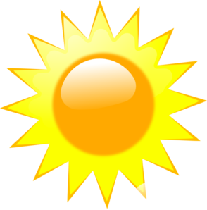 banner transparent download Sunny clipart. Weather ed clip art