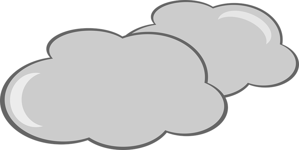 clip art freeuse stock Partly cloudy clipart black and white. Collection of free clouded
