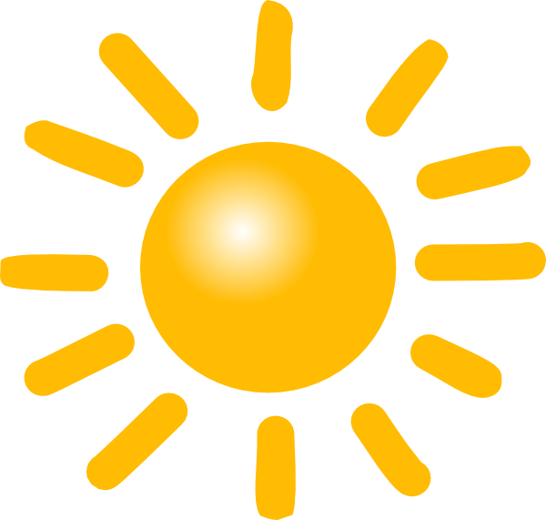 transparent Sunny clipart. Weather clip art at.