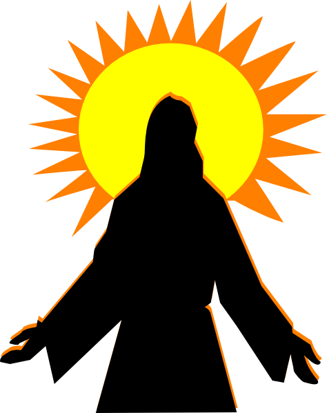 image royalty free stock Sunrise clipart. Faith arise clip art