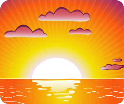 image royalty free Free sunsets cliparts download. Sunset clipart.