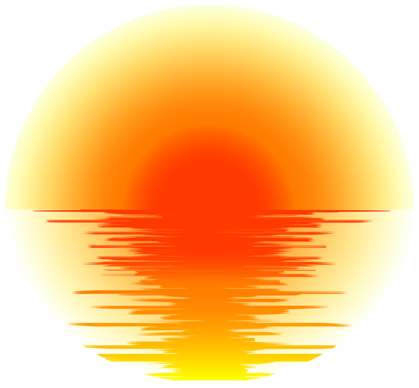 banner freeuse library Effect png transparent clip. Sunset clipart.