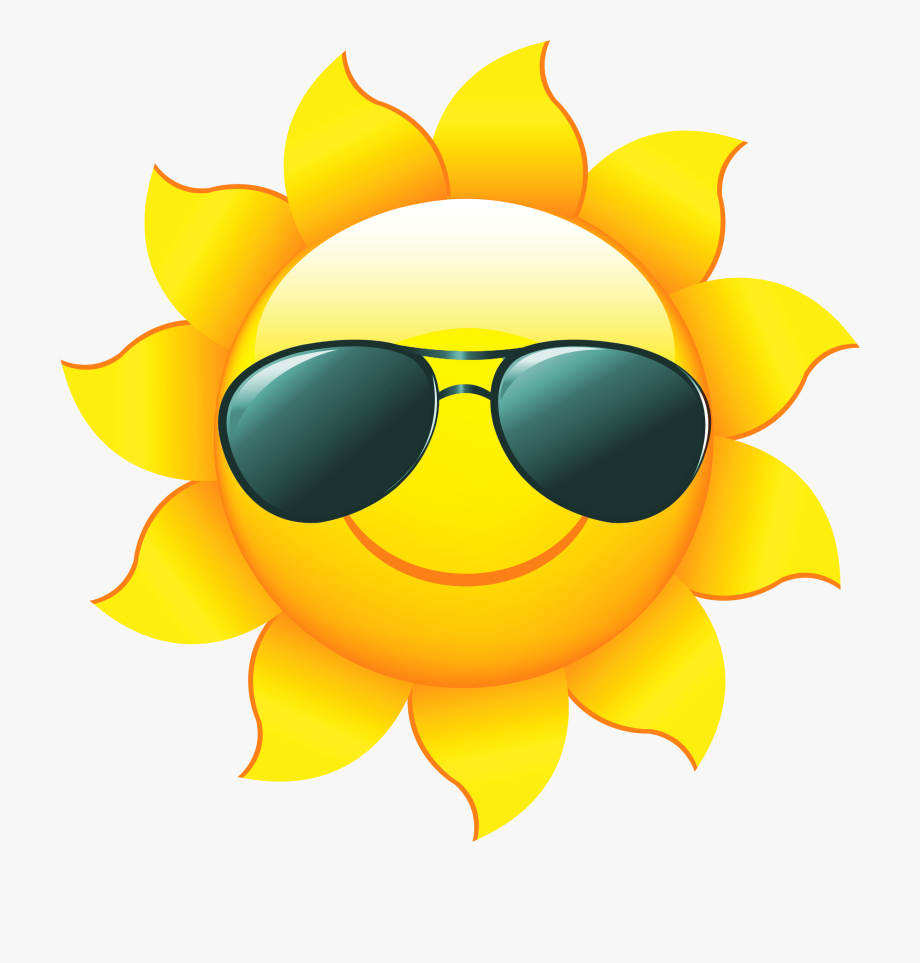 picture royalty free download Sun clip art with. Sunshine clipart