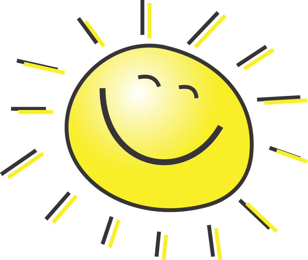 graphic transparent download Sunshine clipart. Cool free on dumielauxepices