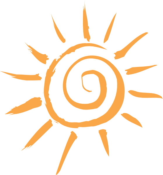 picture black and white library Vector sunshine simple. Sun drawing at getdrawings