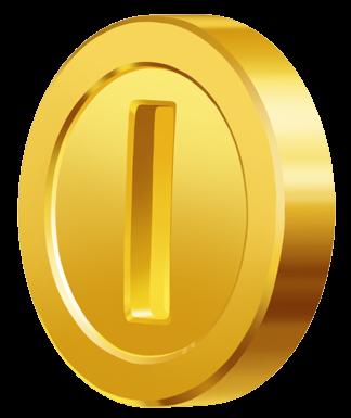svg black and white stock super clip mario coin #104084293