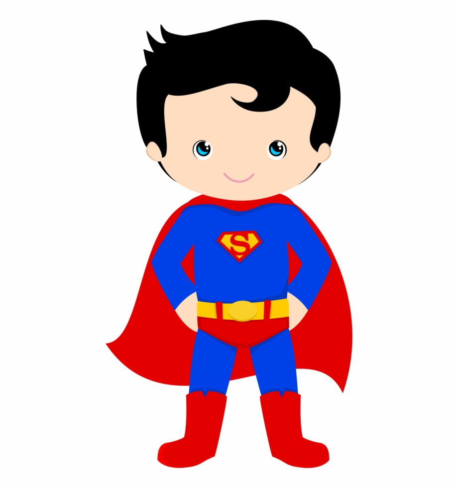banner royalty free download Kid superhero clipart. Printable super hero classroom