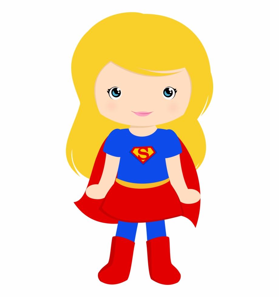png download Supergirl clipart. Super girl party pngtube
