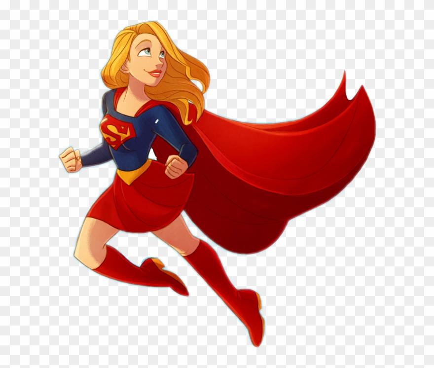 jpg library library Superhero superpower girlpower comics. Supergirl clipart