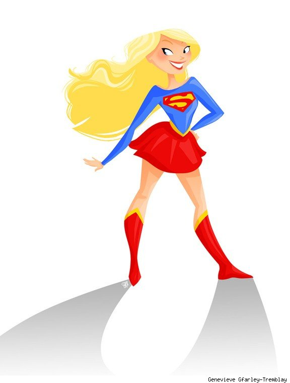 banner free library Free cliparts download clip. Supergirl clipart