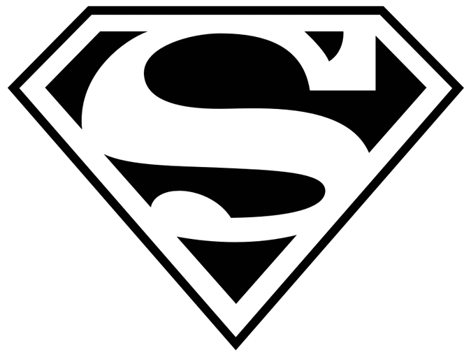 clipart stock Superman panda free images. Superhero cape clipart black and white