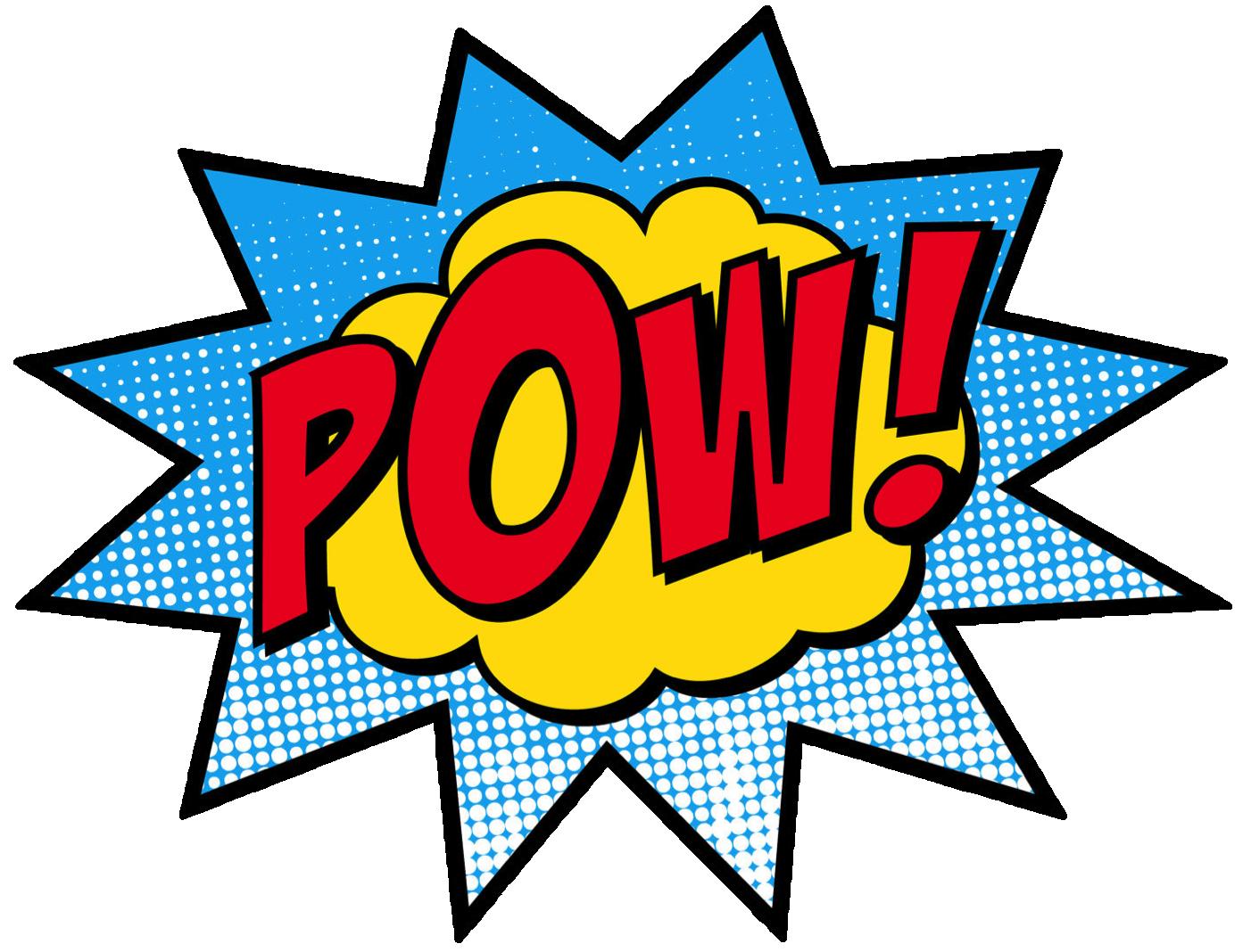 jpg transparent Superhero clipart incredible ideas. Pow transparent background