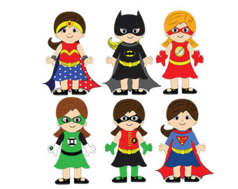 clip art black and white library Free superhero cliparts download. Superheroes clipart.