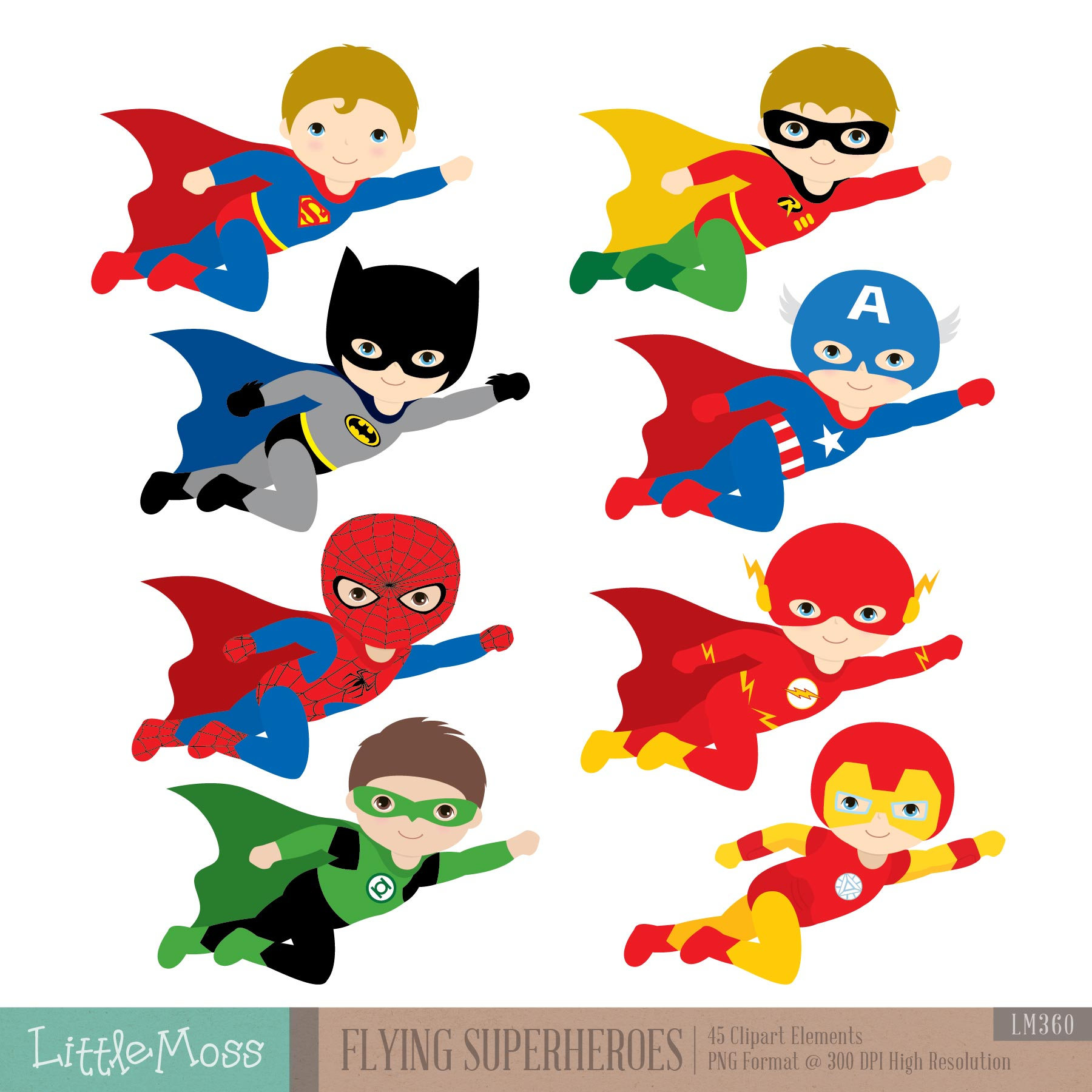 jpg free library Flying superheroes kids super. Superhero kid clipart