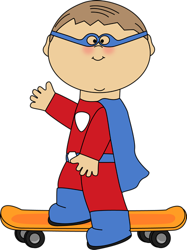 banner library library Clip art kids images. Superhero kid clipart