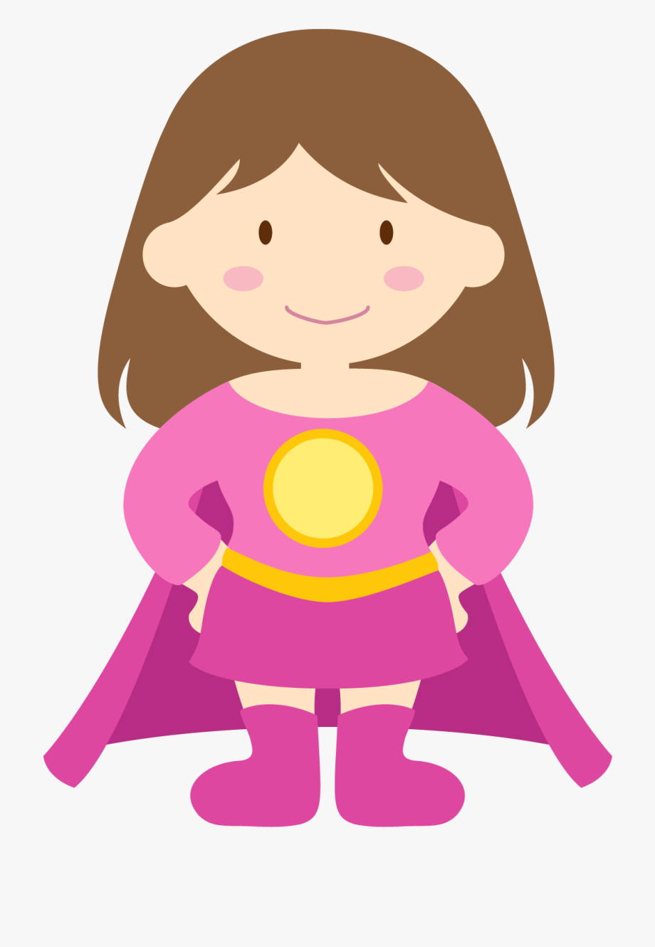 clipart Kids png free cliparts. Superhero kid clipart