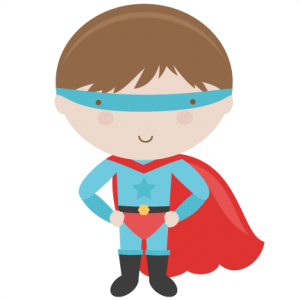 clip freeuse library Superhero SVG