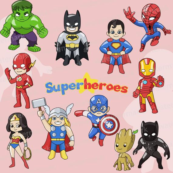 jpg library stock Superheroes clipart. Avengers clip art justice