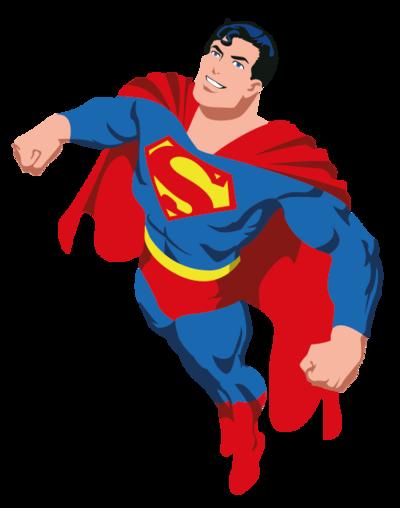 banner transparent library superman