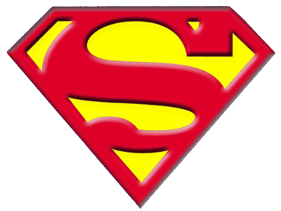 svg royalty free library Superman Clipart